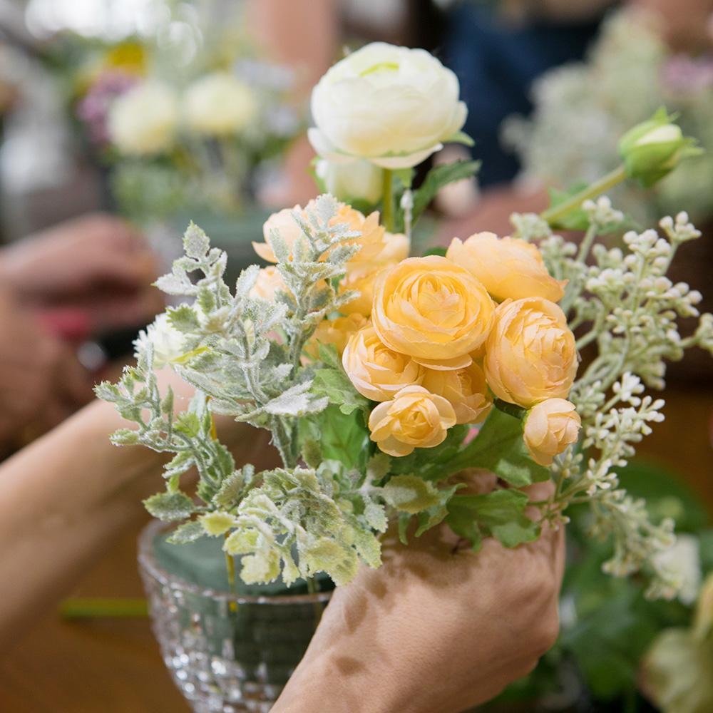 ランチ付き・お花のワークショップA 【Les Vagues(レバーグ)】