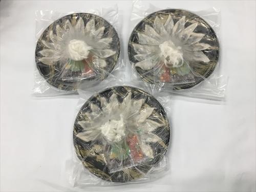 国産 とらふぐ 刺身 3皿 セット