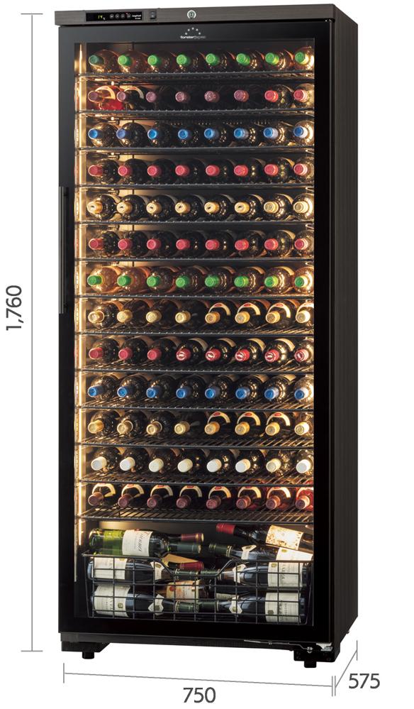 【120本】フォルスター ロングフレッシュ ST408GL (WK)  120本用【右把手】【ワイン15%OFFチケット付】