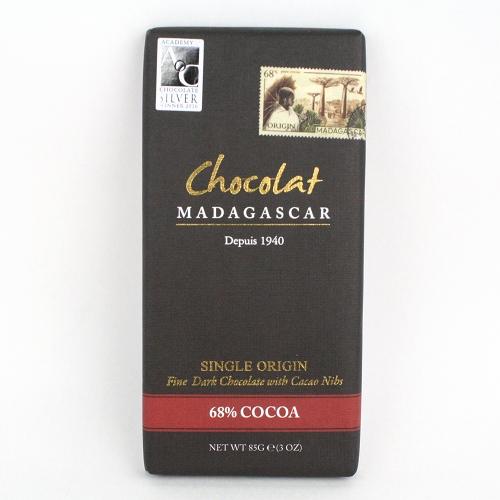 ショコラ・マダガスカル ダークチョコレート・カカオ68%(カカオニブ入り)