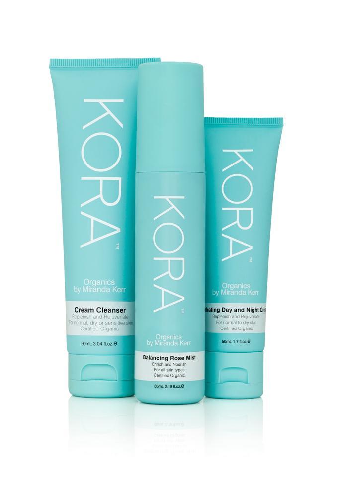 送料無料【KORA】3ステップ‐スキンケアセット ノーマル〜乾燥肌用(お得な3点セット)