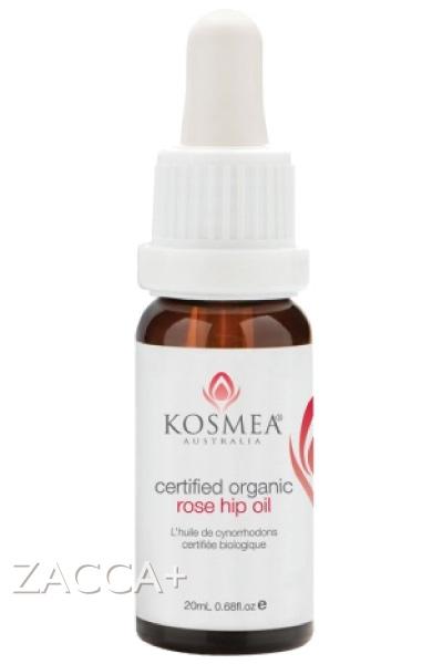 【KOSMEA(コスメア)】 Skin Clinic オーガニック認定 ローズヒップオイル 20ml (100%Certified Organic Rose Hip Oil)