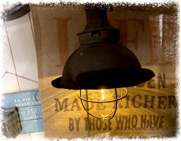 インダストリアル ヴィンテージランプ LED 529【アンティーク調 ライト 照明】