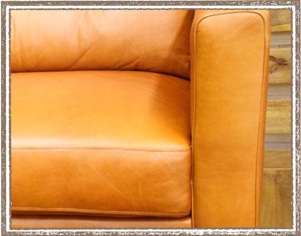 【送料無料】上質なオイルレザーの最高級ソファー <ienowa/3Pクアント>