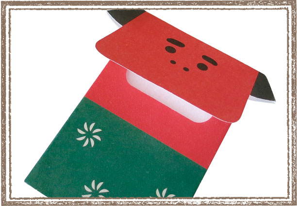 【DECOLE(デコレ)のお正月雑貨】concombre まったりお正月 めでたぽち袋