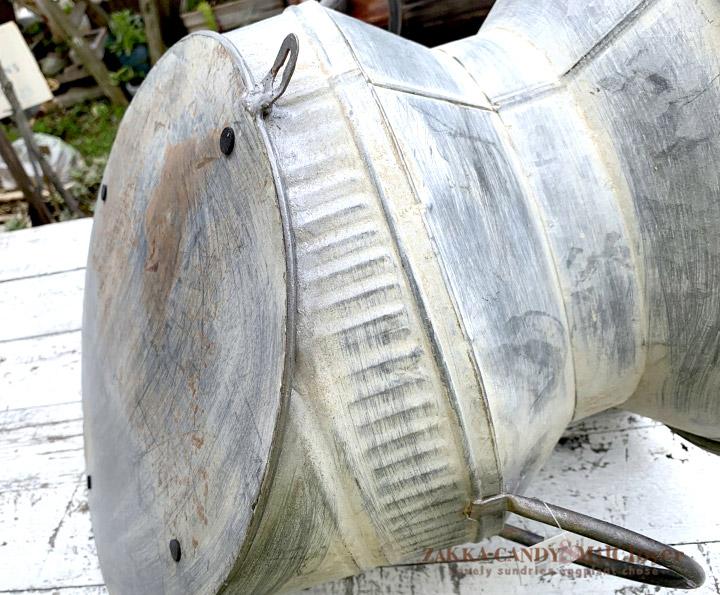 ミルク缶 ガレージ ダイアゴナル ウォールブリキミルクポット 大きいプランター Lサイズ SPICE OF LIFE