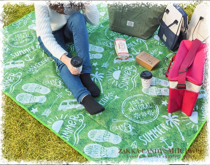 BigBee ピクニックシート【バーベキューやキャンプ、運動会、イベント等に】