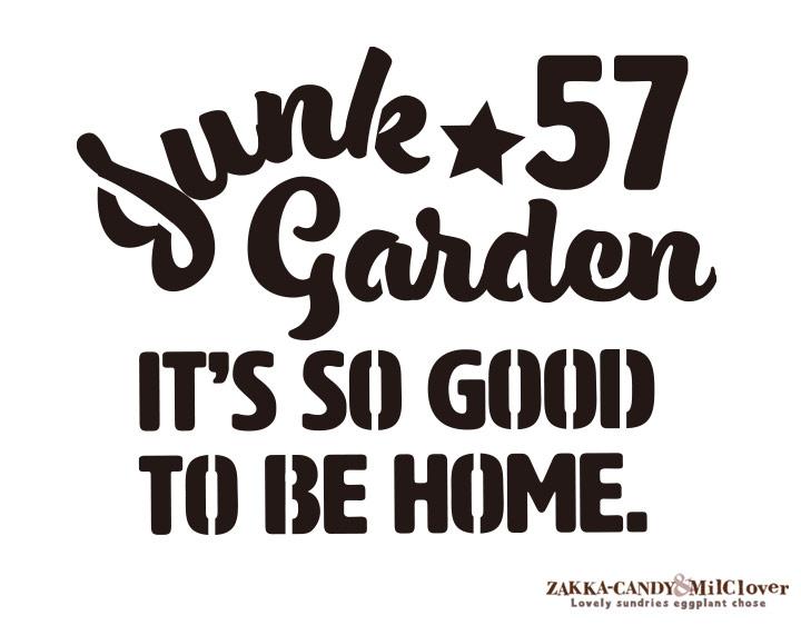 オリジナルステンシルシート Junk Garden 57【DIY リメカン ハンドメイドに】