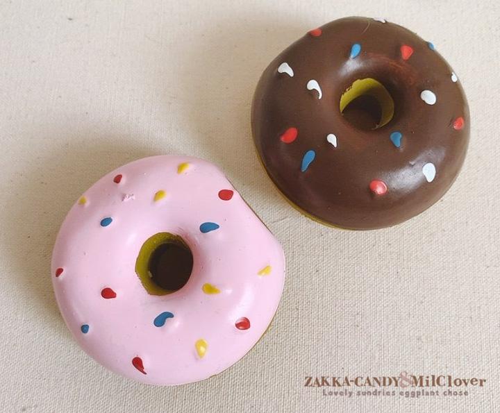 ペット 鳴るおもちゃ ドーナツ
