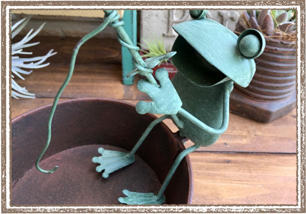 カエルの蚊遣りフィッシングモスキートフロッグ
