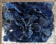 デニム 紫陽花 あじさい ハイドランジアピック  ダークブルー【アジサイ フェイクグリーン アーティフィシャルフラワー 造花】