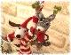 ぶら下がり クリスマス マスコット【クリスマス雑貨 オーナメント】