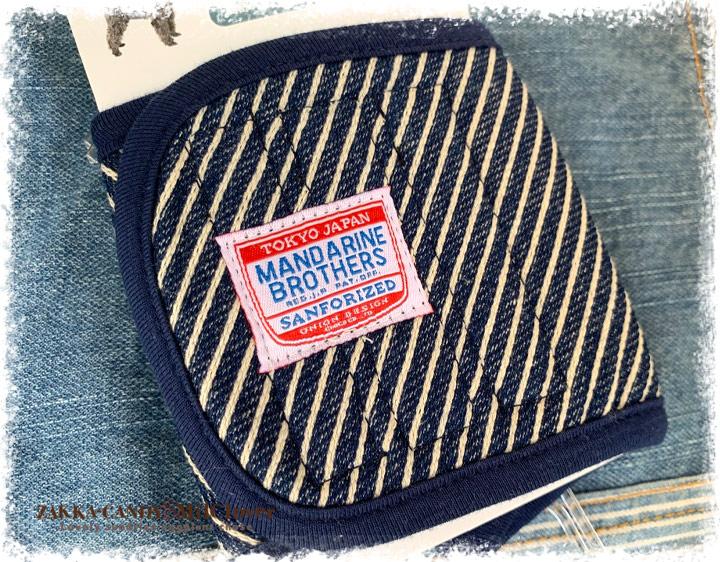 マンダリンブラザーズ  マナーベルト ヒッコリー / MANDARINE BROTHERS  わんこ雑貨