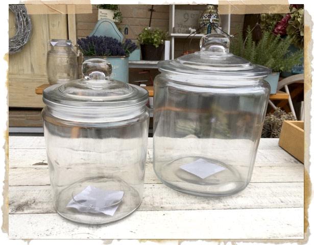 ガラスキャニスターRISE S【保存容器 ナチュラルキッチン カフェ雑貨 キッチン雑貨】