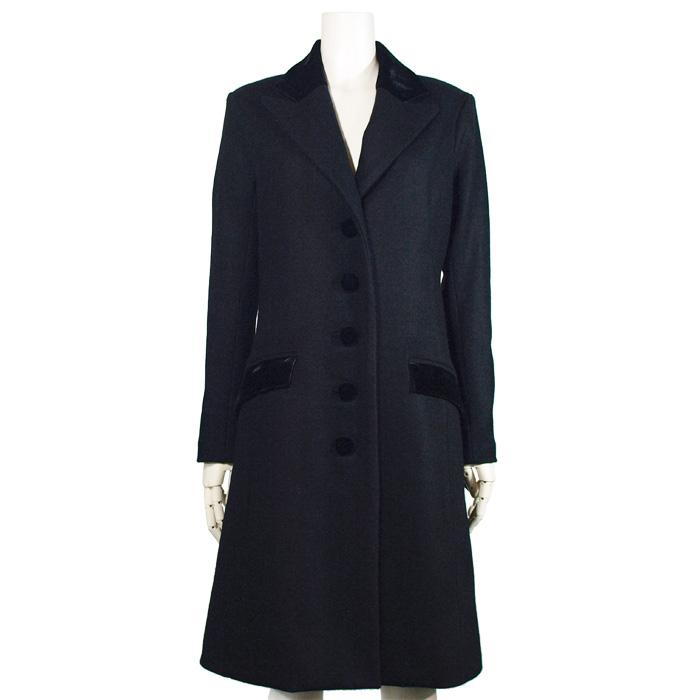 ロイヤルチェスターコート(ブラック)-royal chester coat-