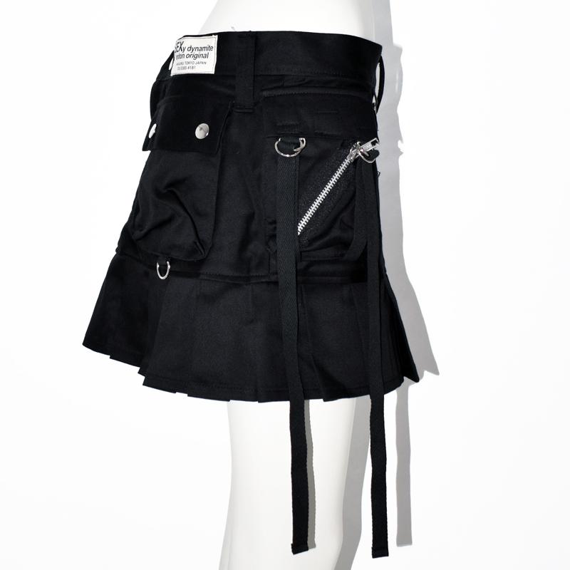 アーミーZIPスカート
