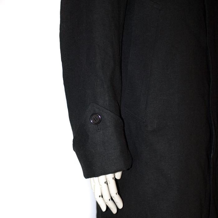 麻スプリングコート