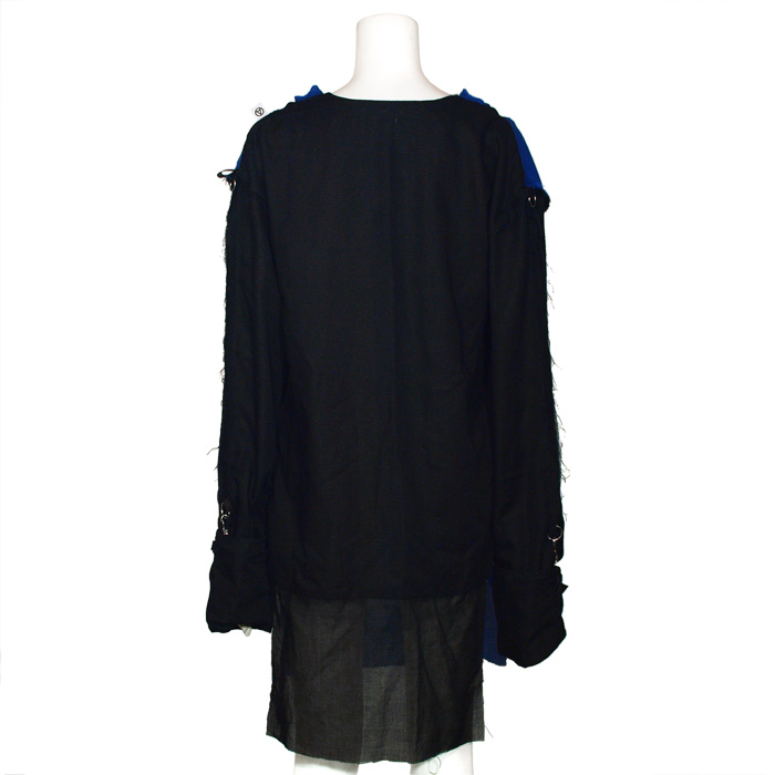 GSTQバイカラーガーゼシャツ-gstq bi-colorgazeshirt-