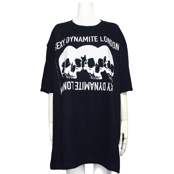 SDL3スカル ビッグTシャツ
