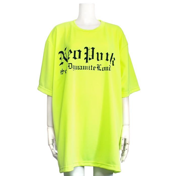 ネオンカラーNeoPunkビッグTシャツ