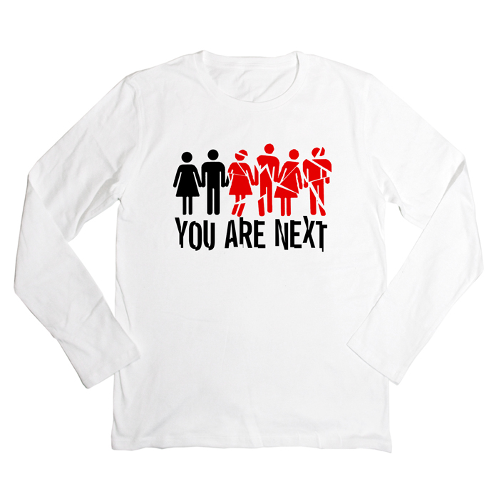 YOU ARE NEXT 長袖Tシャツ