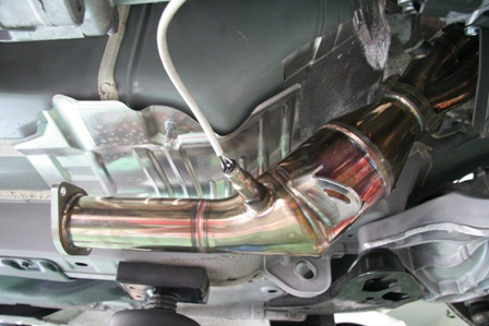 フェアレディZ34キャタライザー MT専用 スーパースルーショート