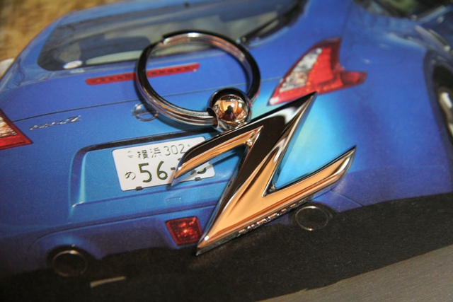 370Z  ロゴマークキータグ