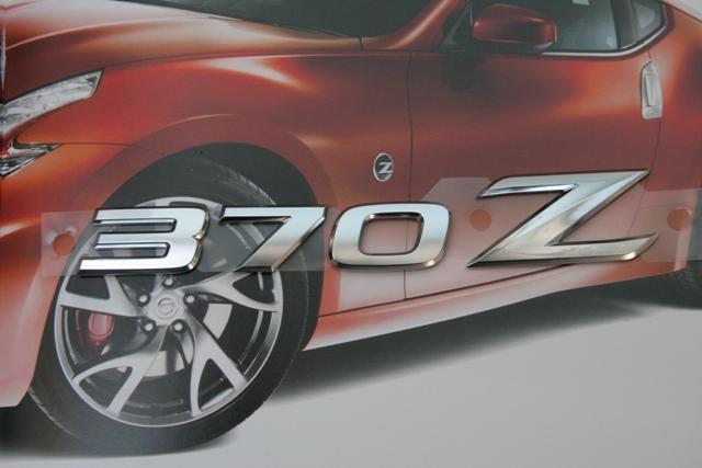 フェアレディZ34エンブレム 370Zリアエンブレム 欧州輸出仕様