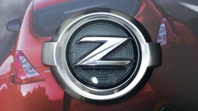 フェアレディZ34エンブレム  370Zフロント