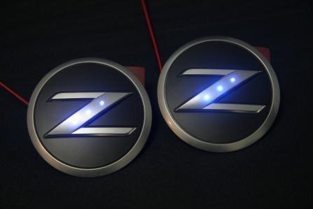 フェアレディZ33 LED side エンブレム