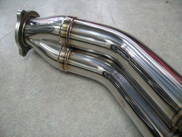 フェアレディZ34エキゾーストマニホールド MT専用ロングエンド