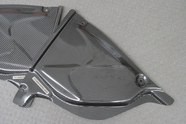 Z34 ドライカーボン コンパートメントカバー