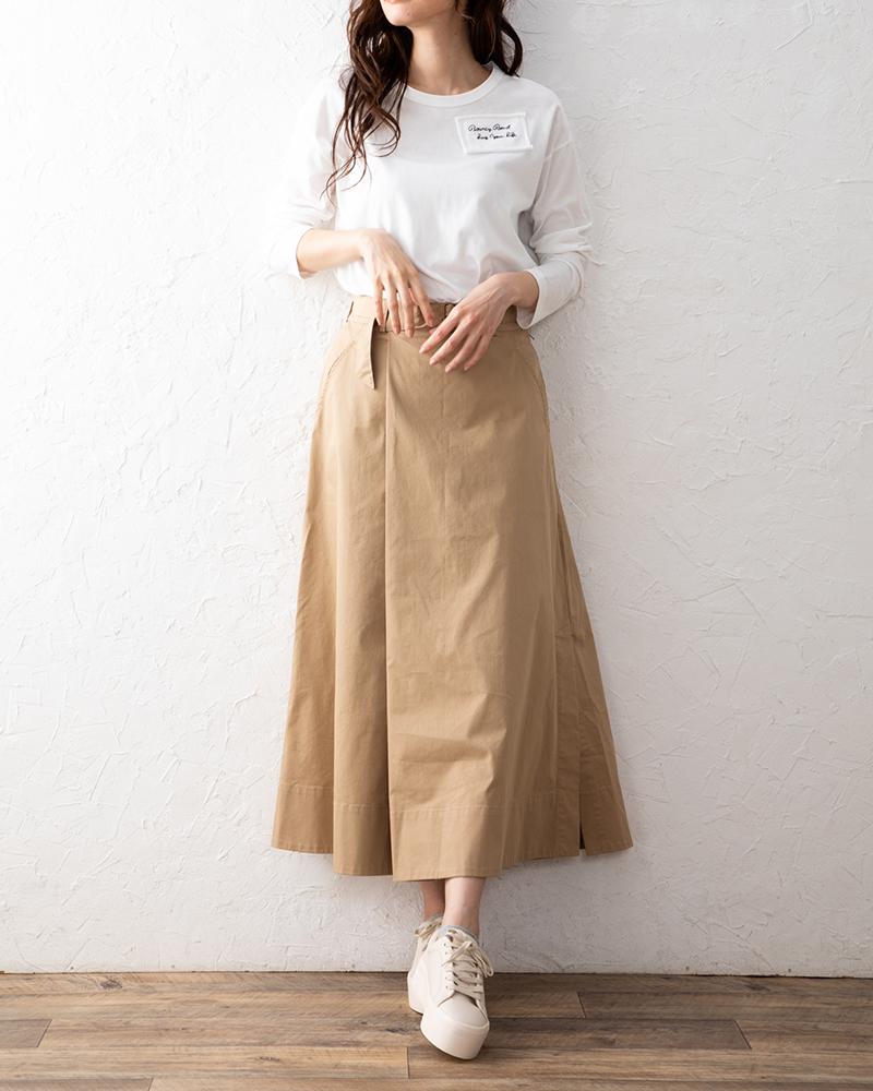【NEW】BOUCYな刺繍ワンポイントロンT(BOUNCY BOND)
