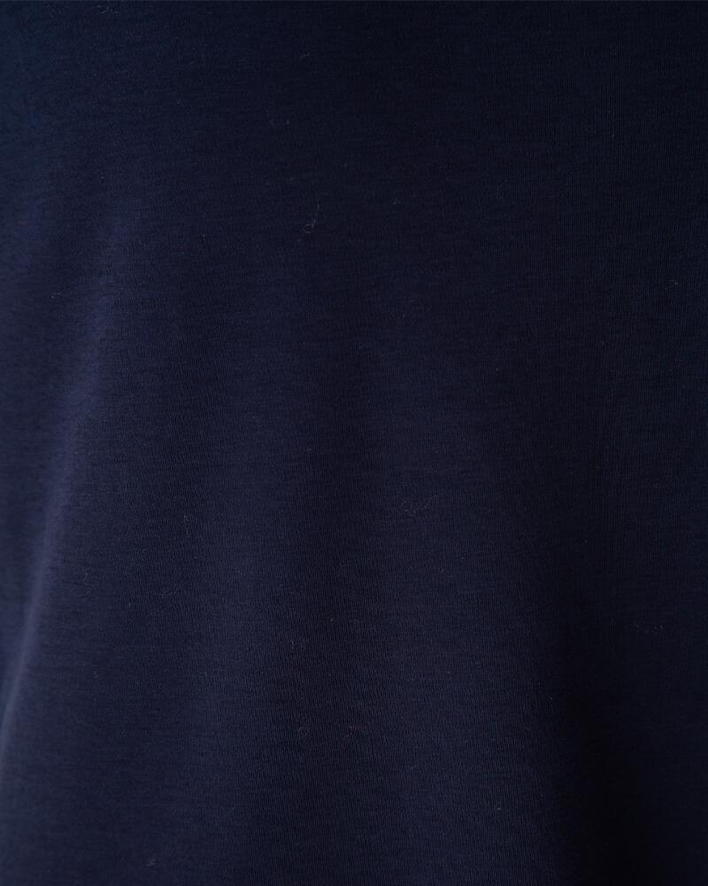 スリットアクセント半袖プルオーバー