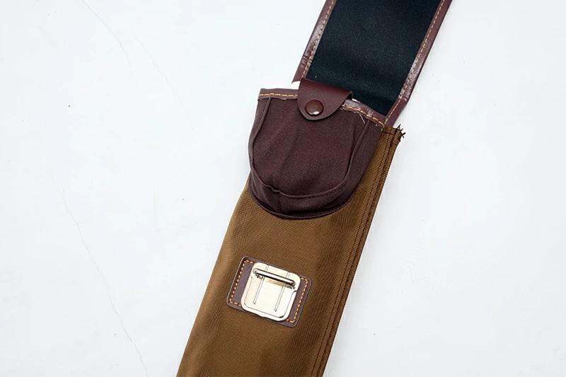 ファッションナイロン 略式竹刀袋 2本入茶 【在庫限り】