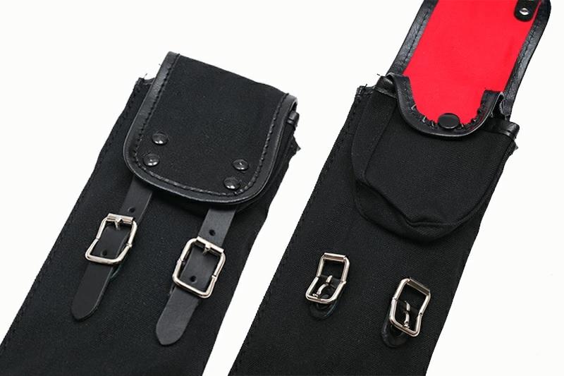 帆布製略式 上製竹刀袋 2本入 【在庫限り】