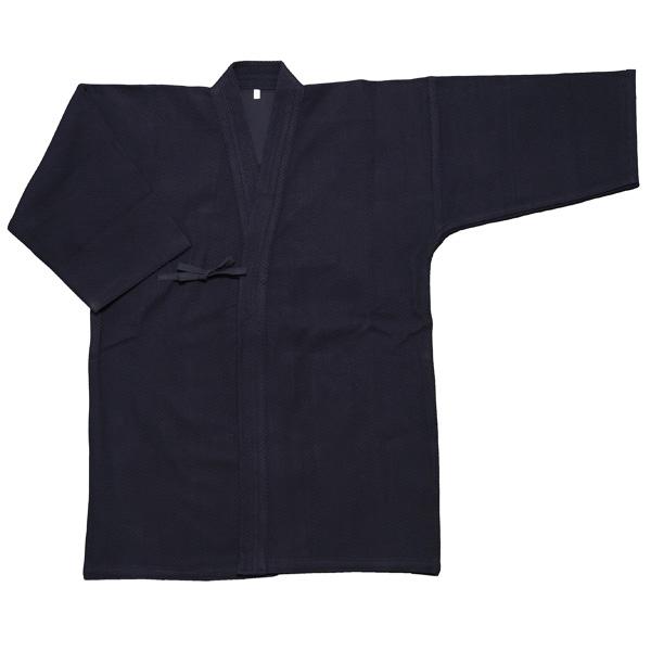 【お買得・ポイント3倍】色止め紺一重剣道衣