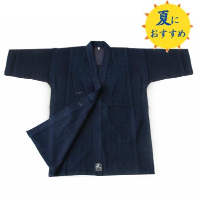 【夏にオススメ】藍染夏用小刺剣道衣+正藍染6000番剣道袴