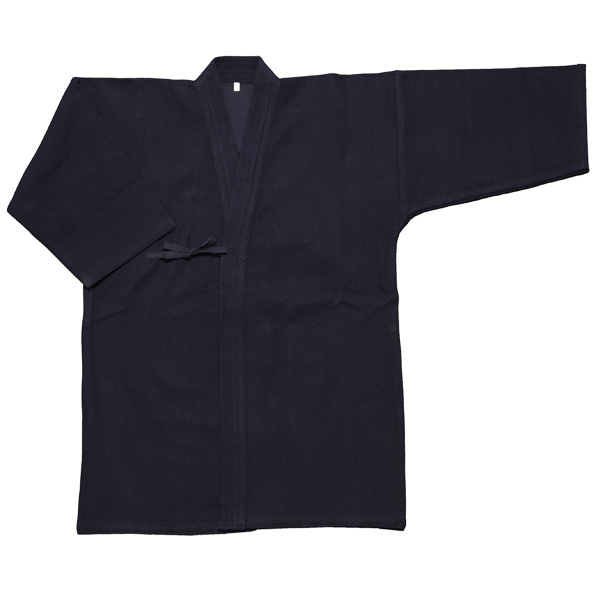 色止め紺一重剣道衣+色止7000番剣道袴