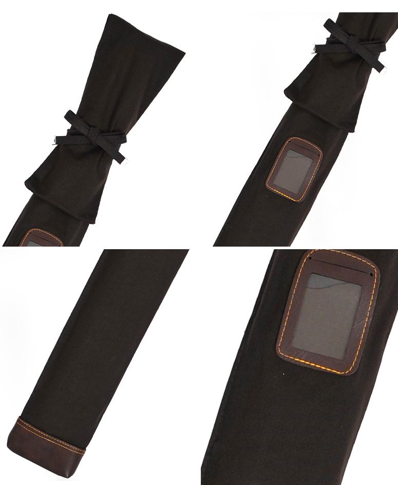 帆布略式並製二本入(負紐付)竹刀袋