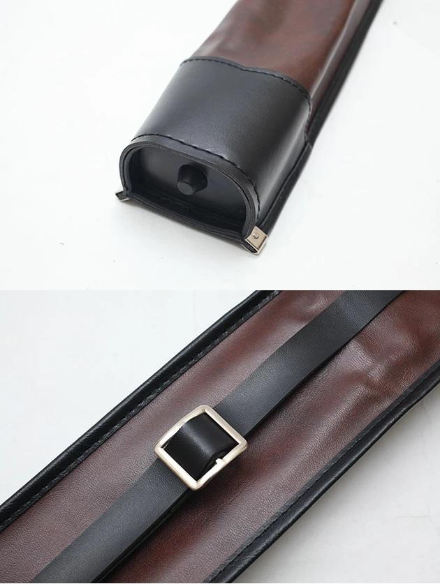 茶 合皮正式竹刀袋 2本入 日本製【在庫限り】