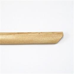 白樫 香取神道流木刀 小刀