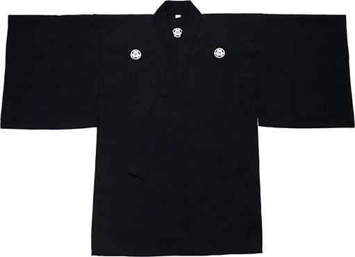 テトロン居合道衣「克」(紋付用着物袖)