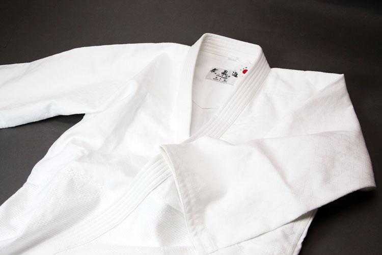 最高級薄型菱刺合気道衣『清涼 弐』上下セット