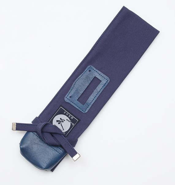 紺帆布短刀用木刀袋