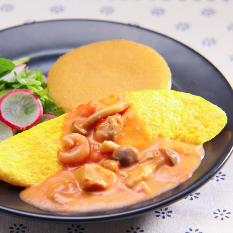 キノコと魚介の薬膳トマトクリーム(10個セット)