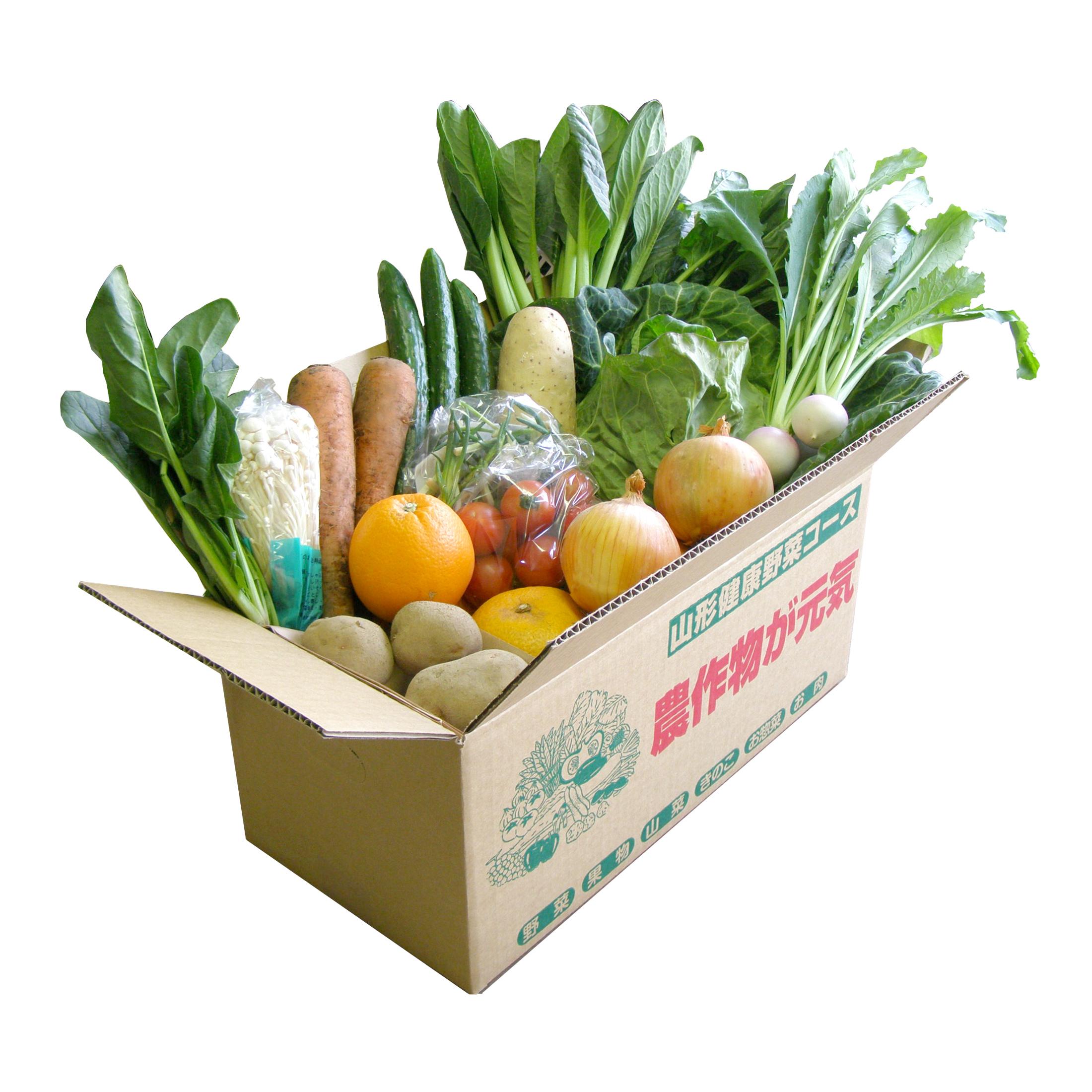 【野菜セット】 ミニ家族タイプ(全4回お届け)