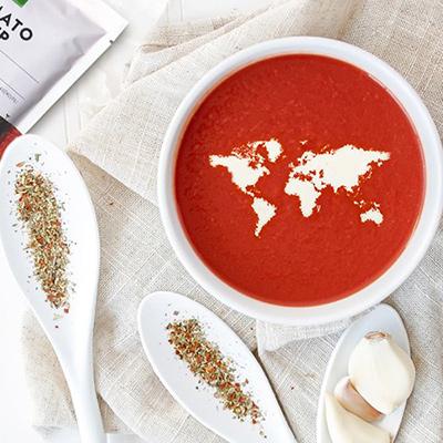 【レトルト】AUGAオーガニック「トマト」スープ(400g 2人前)