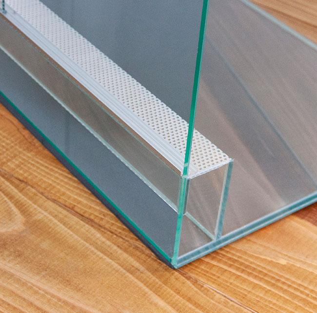 Square Cage / BASIC  スクエアケージ ベーシック 【 SC-604545 】 【 納期4-6週間程度 】【 送料お見積り 】 【 パルダリウム、ビバリウム、テラリウム、コケリウムに最適なガラスケージ / 水槽 】