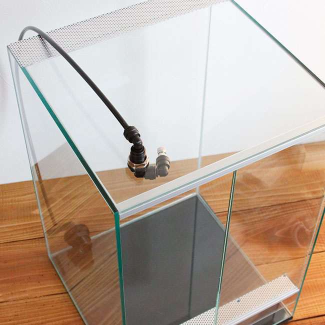Square Cage / PRO  スクエアケージ プロ 【 SC-604545-PRO 】 【 納期4-6週間程度 】【 送料お見積り 】 【 パルダリウム、ビバリウム、テラリウム、コケリウムに最適なガラスケージ / 水槽 】